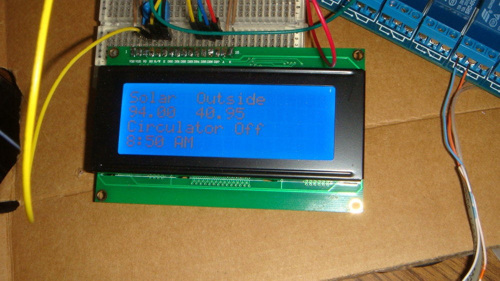 Circulator controller now works!