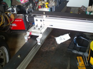 X Axis-CNC Plasma Cutter